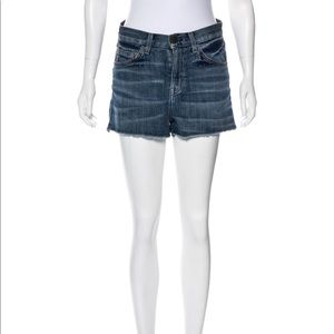 Current/Elliot distressed ripped Jean Shorts 27